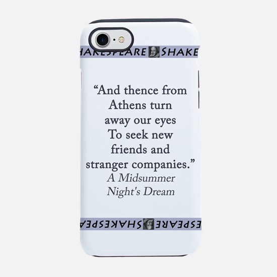 And Thence From Athens iPhone 7 Tough Case