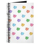 Rainbow Pig Pattern Journal