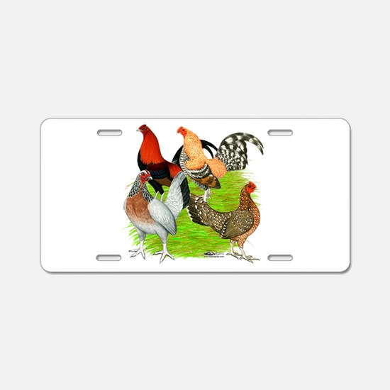Old English Games Aluminum License Plate