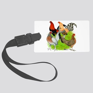 Old English Games Large Luggage Tag