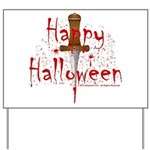 Happy Halloween (D) Yard Sign