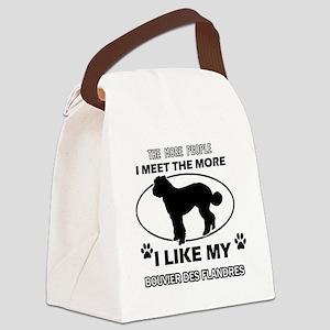 I like my Bouvier des Flandres Canvas Lunch Bag