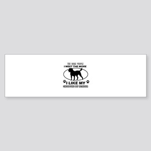 I like my Chesapeake Bay Retriever Sticker (Bumper