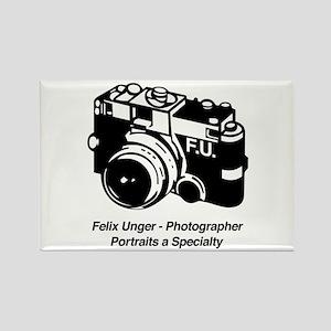 Felix Unger Photographer Rectangle Magnet