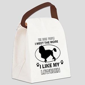I like my Lowchen Canvas Lunch Bag