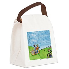 Winter Snow Canvas Lunch Bag