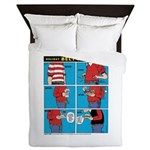 Holiday Diet Queen Duvet