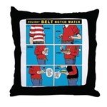 Holiday Diet Throw Pillow
