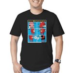 Holiday Diet Men's Fitted T-Shirt (dark)
