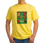 Holiday Diet Yellow T-Shirt