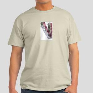 Glamor Brooch V Ash Grey T-Shirt