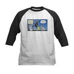 Thanksgiving Turkey Scary Kids Baseball Jersey