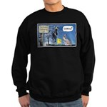 Thanksgiving Turkey Scary Sweatshirt (dark)