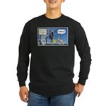 Thanksgiving Turkey Scary Long Sleeve Dark T-Shirt