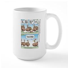Thanksgiving Turkey Turducken Large Mug