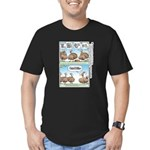 Thanksgiving Turkey Turducken Men's Fitted T-Shirt
