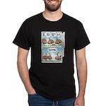 Thanksgiving Turkey Turducken Dark T-Shirt