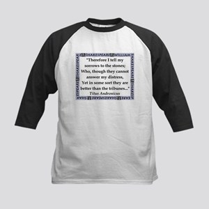 Therefore I Tell My Sorrows Baseball Jersey
