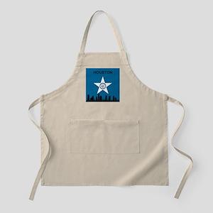 Houston Flag and Skyline Apron