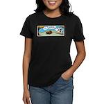 Thanksgiving Turkey Tired Women's Dark T-Shirt
