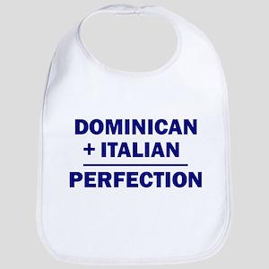 50% Italian + 50% Dominican Bib
