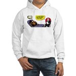 Thanksgiving Turkey Shrink Hooded Sweatshirt