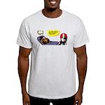 Thanksgiving Turkey Shrink Light T-Shirt