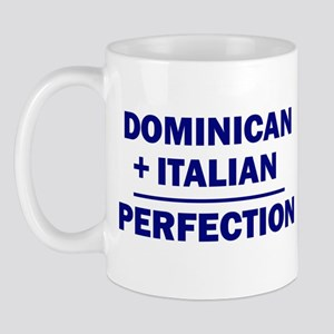 50% Italian + 50% Dominican Mug
