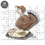 Thanksgiving Turkey Scale Puzzle