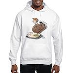Thanksgiving Turkey Scale Hooded Sweatshirt