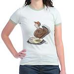 Thanksgiving Turkey Scale Jr. Ringer T-Shirt