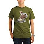 Thanksgiving Turkey Scale Organic Men's T-Shirt (d