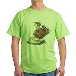 Thanksgiving Turkey Scale Green T-Shirt