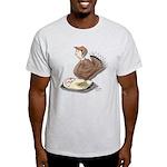 Thanksgiving Turkey Scale Light T-Shirt