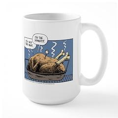 Thanksgiving Turkey Heat Large Mug