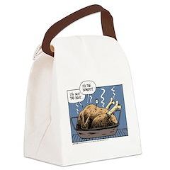 Thanksgiving Turkey Heat Canvas Lunch Bag