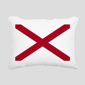 Alabama flag Rectangular Canvas Pillow