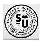 Sarcasm University (S) Tile Coaster