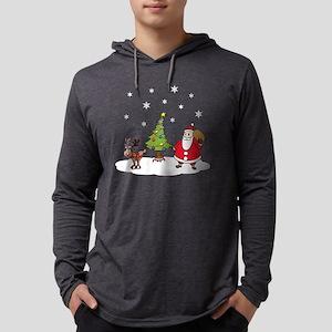 white christmas Mens Hooded Shirt