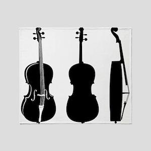 Cellos Throw Blanket