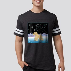 vWheaten- Snowy NightDog Star4 Mens Football Shirt