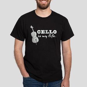 Cello Is My Life Dark T-Shirt