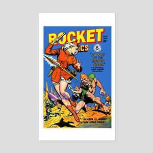Rocket Comics #55 Sticker (Rectangle)