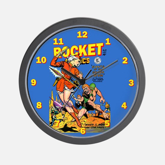 Rocket Comics #55 Wall Clock