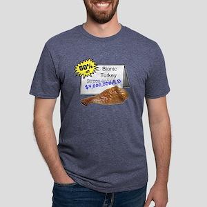 bionicturkey Mens Tri-blend T-Shirt