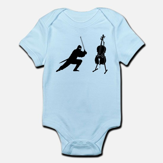 Cello Ninja Infant Bodysuit