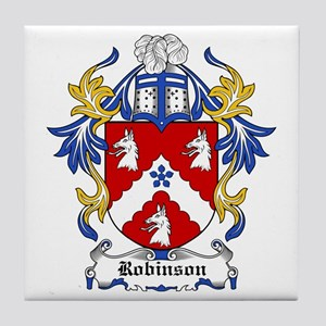 Robinson Coat of Arms Tile Coaster