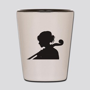 Cellist Shot Glass