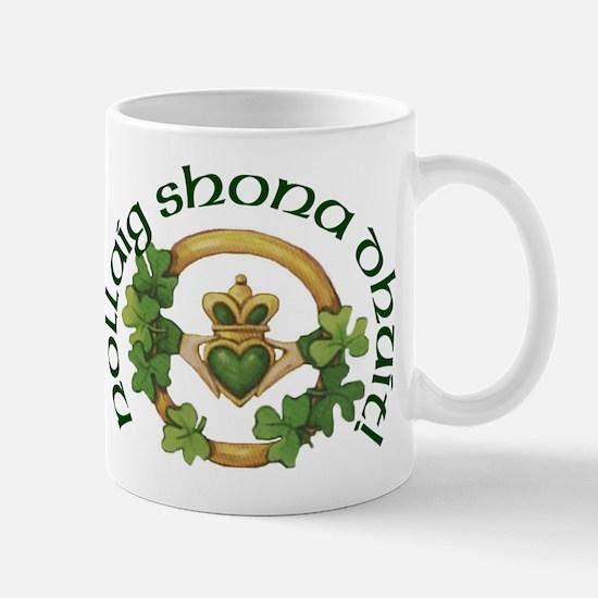 Gaelic Greetings Irish Claddagh Mug