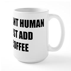 Instant Human Large Mug